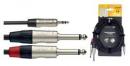 Stagg NYC3/MPS2PR - kabel instrumentalny 3m