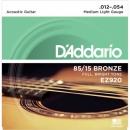 D'Addario EZ920 12-54 - struny do gitary akustycznej