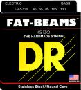 DR struny do gitary basowej FAT-BEAM stalowe 45-130 5-str