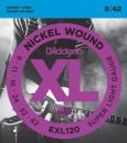 D'Addario EXL120 9-42 - struny do gitary elektrycznej