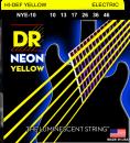 DR struny do gitary elektrycznej NEON YELLOW 10-46