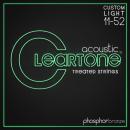 Cleartone struny do gitary akustycznej Phosphor Bronze 11-52