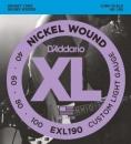 D'Addario EXL190 40-100 - struny do gitary basowej