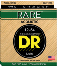 DR struny do gitary akustycznej RARE 12-54