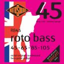Rotosound RB45 - 4 struny bas [45-105] niklowane