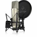 Behringer TM1 -  Zestaw do nagrań: mikrofon wielkomembranowy + akcesoria