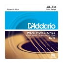 D'Addario EJ16 12-53 - struny do gitary akustycznej