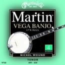 Martin V720 Banjo 9-30 struny do banjo 4-str