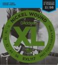D'addario EXL117 11-56 - struny do gitary elektrycznej