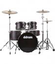 Ddrum HYBRID 5 - akustyczny zestaw perkusyjny z wbudowanymi triggerami