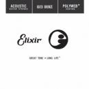 Elixir struna do gitary akustycznej POLYWEB 80/20 Bronze. 039