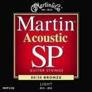 Martin MSP-3100 Bronze 12-54 - struny do gitary akustycznej