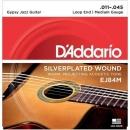 D'Addario EJ84M 11-45 - struny do gitary akustycznej