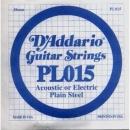 D'Addario PL015 struna .015