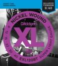D'addario EXL120BT 9-40 - struny do gitary elektrycznej