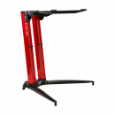 STAY Keyboard Stand PIANO 70cm 1 poziom Red statyw pod keyboard