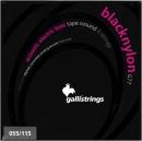 STRUNY BASS BLACK NYLON G-77 055-115
