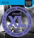 D'addario EXL115BT 11-50 - struny do gitary elektrycznej