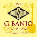 Rotosound RS65 - 5 strun banjo [10-10] niklowane