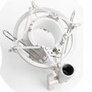 Music Man Koszyk mikrofonu pojemnościowego DSM44 srebrny