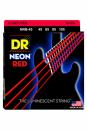 DR NRB 45-105 NEON RED BASS struny powlekane do gitary basowej