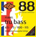 Rotosound RS88EL - 4 struny bas Long [65-115] czarny nylon