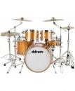 Ddrum Dominion Maple DM 22 OR - akustyczny zestaw perkusyjny