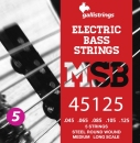 STRUNY BASS 5 MSB-45125 GALLI /STEEL