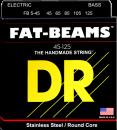 DR struny do gitary basowej FAT-BEAM stalowe 45-125 5-str