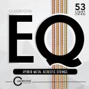 Cleartone struny do gitary akustycznej EQ Hybrid Metal 12-53