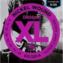 D'addario EXL120-8 9-65 Struny do Gitary Elektrycznej