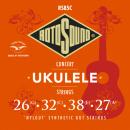 Rotosound RS85C - 4 struny ukulele [26-27] nylgut