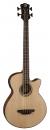 Luna Acoustic Tribal Bass A/E SN - gitara basowa elektro-akustyczna