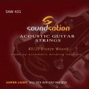 Soundsation SAW431 Super Light - struny do gitary akustycznej