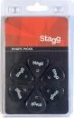Stagg SPSTD X6-1.14 - kostki gitarowe
