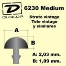 Dunlop 6230 Progi Gitarowe