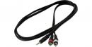 RockCable RCL-20904 mini stereo jack/2x RCA 3m