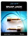 SnapJack Tips - wtyk Jack prosty, 2 szt. - wyprzedaż