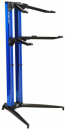 STAY Keyboard Stand PIANO 120cm 2 poziomy Blue statyw pod keyboard