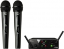 AKG WMS-40 MINI 2 DUAL Vocal Set US45 A/C (660.700-662.300) - system bezprzewodowy