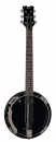Dean Backwoods 6 BC - banjo sześciostrunowe Black Chrome