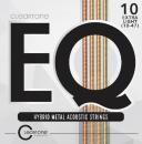 Cleartone struny do gitary akustycznej EQ Hybrid Metal 10-47