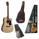 WASHBURN AD 5 CE (NS) PACK gitara elektroakustyczna