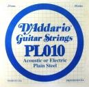 D'Addario PL010 struna .010
