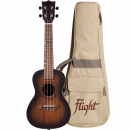 FLIGHT DUC380 CEQ AMBER ukulele koncertowe elektro-akustyczne