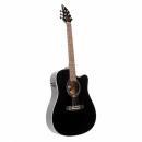 FlyCat  C100 BK EQ - gitara elektroakustyczna