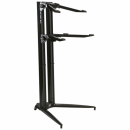 STAY Keyboard Stand PIANO 120cm 2 poziomy Black statyw pod keyboard