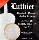 Luthier SET35 Super Carbon - struny do gitary klasycznej