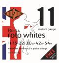 Rotosound R11-54 - 6 strun Whites [11-54] niklowane struny do gitary elektrycznej