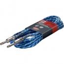 Stagg SGC-6-VT-BL - kabel instrumentalny 6m